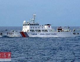 """Nhật Bản """"tố"""" tàu hải cảnh Trung Quốc tuần tra trái phép"""