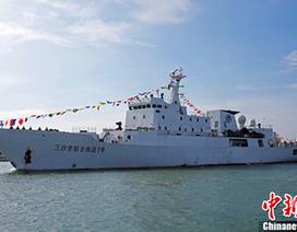 """Trung Quốc biên chế tàu tuần tra hiện đại cho """"thành phố Tam Sa"""""""