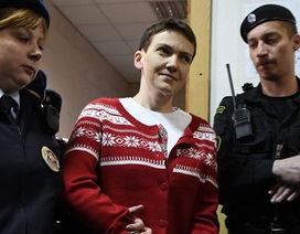 Anh kêu gọi Nga trả tự do cho nữ phi công Ukraine