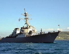 Mỹ điều tàu chiến đến Biển Đen giữa lúc căng thẳng leo thang