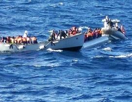 Gần 3.000 người nhập cư trái phép được giải cứu trên Địa Trung Hải