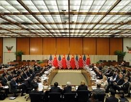"""Biển Đông """"phủ bóng"""" cuộc Đối thoại Chiến lược và Kinh tế Trung - Mỹ"""