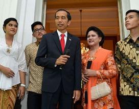 Tổng thống Indonesia không nhận quà trong đám cưới con trai