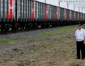Trung - Nga khởi động tuyến vận tải chiến lược