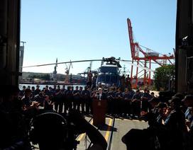 """""""Tàu chiến Nga theo sát tàu chở Thủ tướng Canada trên biển Baltic"""""""