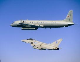 Chiến đấu cơ Anh chặn 2 máy bay Nga trên biển Baltic