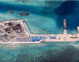 Trung Quốc ngang ngược tuyên bố sắp cải tạo xong các bãi đá ở Biển Đông