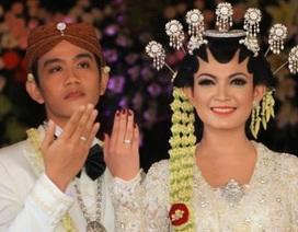 Con trai Tổng thống Indonesia kết hôn với hoa khôi