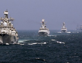 Nga và các đồng minh tập trận tại Biển Đông