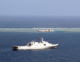 """Trung Quốc bắn đạn thật """"đáp trả"""" chuyến thị sát của Đô đốc Mỹ"""