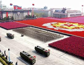 """Triều Tiên tập hợp dàn vũ khí """"khủng"""" cho lễ duyệt binh quy mô"""