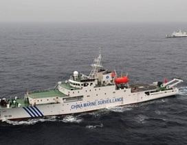 Nhật chặn tàu thăm dò dầu khí của Trung Quốc gần Senkaku/Điếu Ngư