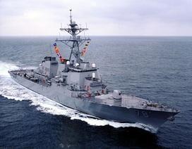 """Mỹ tung tàu khu trục DDG-78 USS Porter vào biển Đen """"dằn mặt"""" Nga"""