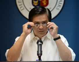 Đoàn cấp cao Philippines sang La Haye quyết theo đuổi vụ kiện Trung Quốc