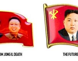 Triều Tiên cho in chân dung ông Kim Jong-un lên huy hiệu