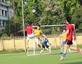 Giải bóng đá của Hiệp hội cựu du học sinh Anh tại Việt Nam - UKAV Cup 2013