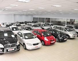 Cấm nhập ôtô đã qua sử dụng quá 5 năm từ ngày sản xuất