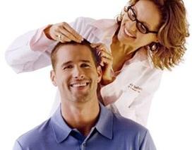 Ngăn rụng tóc giúp cải thiện phong độ nam giới