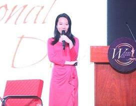 Nữ sinh trường Quốc Tế Mỹ gây bất ngờ tại Diễn Đàn Nữ doanh nhân Châu Á - Thái Bình Dương 2014