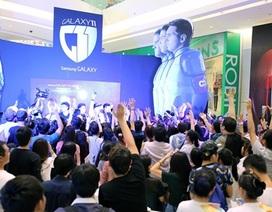 Fan bóng đá hào hứng tranh tài tại ngày hội Galaxy11
