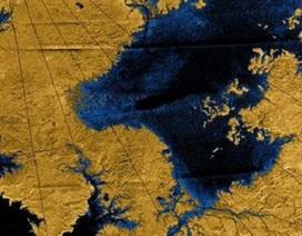 Trên sao Thổ cũng có... sông!