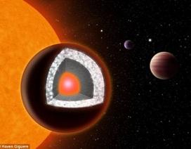 Phát hiện hành tinh bằng kim cương to gấp 2 Trái đất