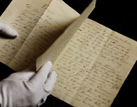 Tìm thấy bản thảo đầu tay của nhà văn Andersen