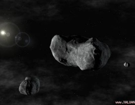 """NASA dự định """"bắt"""" thiên thạch để xây trạm không gian"""
