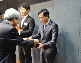 Công dân Việt Nam được vinh danh tại Hàn Quốc
