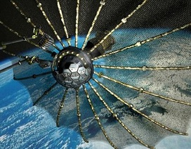 """Mỹ phát triển lưới vũ trụ thu gom vệ tinh """"chết"""""""