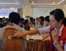 Khám, chữa bệnh miễn phí cho Việt kiều ở Campuchia