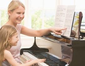 Trẻ học nhạc sớm dễ bộc lộ tài năng