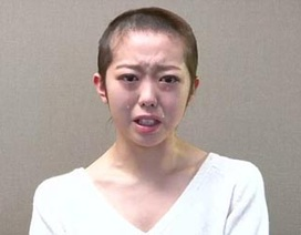 Sao Nhật cạo trọc đầu vì để lộ chuyện yêu đương