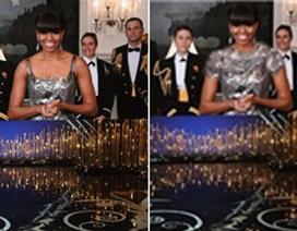 """Truyền thông Iran """"phù phép"""" chiếc váy của phu nhân Tổng thống Mỹ"""