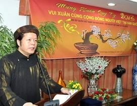 Sứ quán Việt Nam ở các nước đón Tết cùng kiều bào
