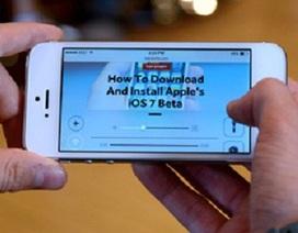 Hé lộ mới từ hệ điều hành iOS 7 Beta 4