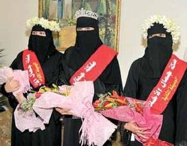 """Muôn chuyện """"khó tưởng"""" tại các cuộc thi hoa hậu ở Trung Đông"""