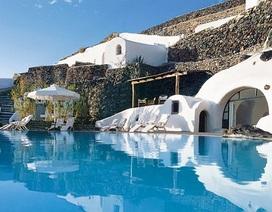 """Kỳ thú khách sạn """"thiên đường"""" trong lòng núi"""