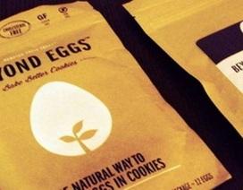 Trứng nhân tạo công dụng như trứng thật
