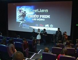 Ra mắt dự án chiếu phim lưu động