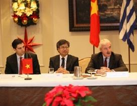 Chuẩn bị lập Hội đồng Doanh nghiệp Hy Lạp - Việt Nam