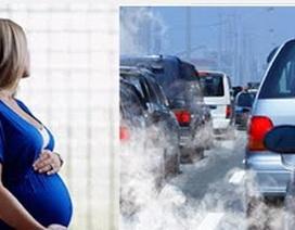 Ô nhiễm không khí có hại cho bà bầu hơn khói thuốc