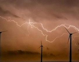 Hé lộ khả năng tạo sét đáng sợ của turbine gió