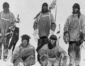 Ảnh hiếm về đoàn thám hiểm tử nạn khi tới Nam Cực