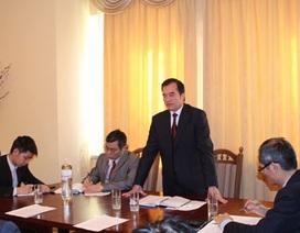 Đại sứ quán Việt Nam tại Ukraine tổ chức hội nghị lãnh đạo cộng đồng