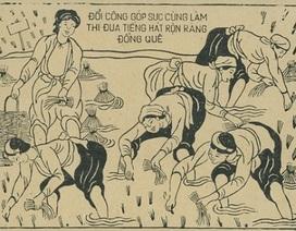 Xem người Việt nhảy đầm trong tranh dân gian
