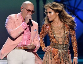 Pitbull, Jennifer Lopez tung ca khúc World Cup 2014
