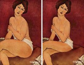 """Vẻ đẹp của mỹ nhân trong tranh cổ điển qua """"bàn tay""""… photoshop"""