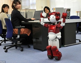 Robot thông minh biết nói chuyện hài hước