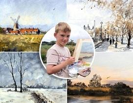 Thiên tài hội họa 11 tuổi sở hữu khối tài sản gần… 73 tỉ đồng